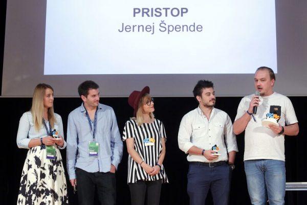 Digitalac godine - pobjednik Jernej Spende Pristop