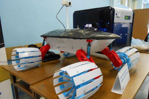 3D Tvornica budućnosti predstavila je Lega One Rover – robotizirano vozilo čiji su dijelovi izrađeni od ABS plastike putem 3D ispisa.