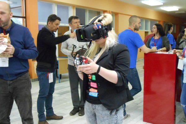 Posjetitelji su mogli isprobati čari virtualne stvarnosti.